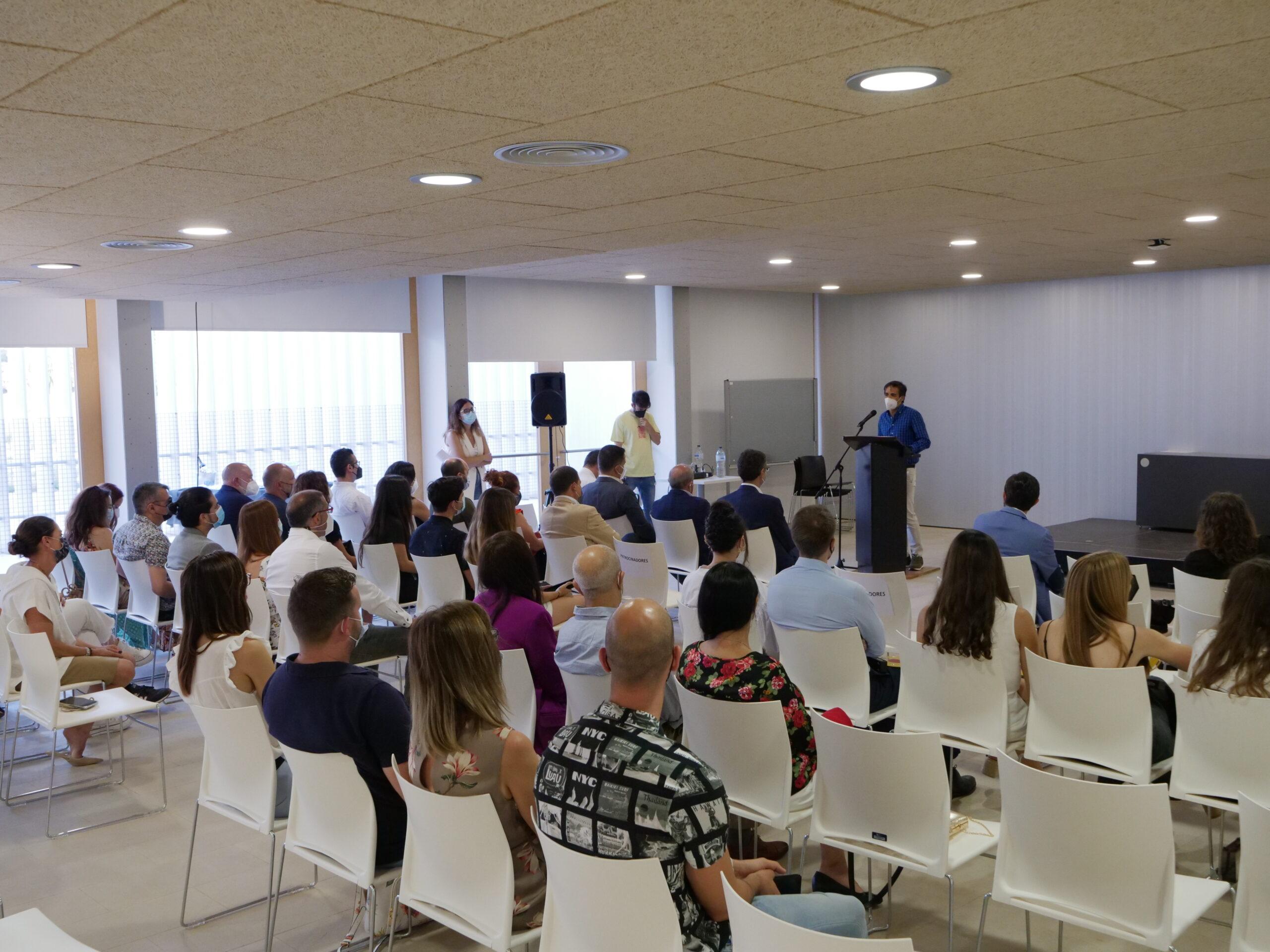 Entrega de premios de la 10ª edición de la Maratón de Creación de Startups UMH